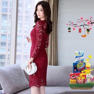 Đầm Ren váy Ren cao cấp Tôn Dáng - gjd2tgad thumbnail