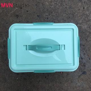 MVN Studio - Combo hộp chống ẩm 10 lít 4 Khóa bảo quản máy ảnh tặng kèm khăn da cừu lau lens [ĐƯỢC KIỂM HÀNG] 37038928 - 37038928 thumbnail