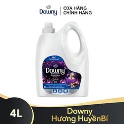 Nước Xả Vải Downy Hương Nước Hoa Quyến rũ 4L (Dạng chai) - Thơm lâu hơn nước hoa đắt tiền 4902430932028