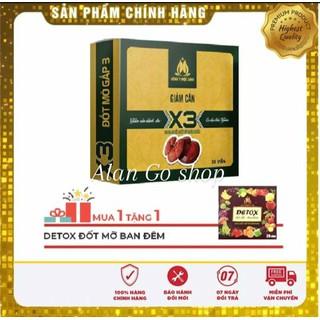 Viên uống giảm cân X3 - Đông Y Mộc Linh - 00001-ML thumbnail