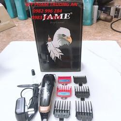 Tông đơ cắt tóc lưỡi kép Jame JM 1070 và 1 vòng chun