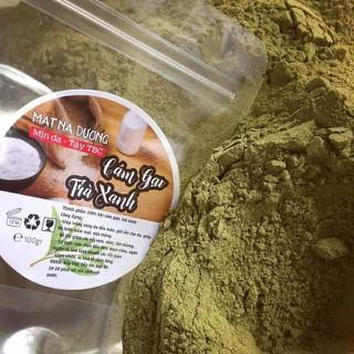 100gr cám gạo trà xanh đắp mặt nạ - CÁM GẠO TRÀ XANH thumbnail