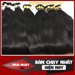 Cung cấp tóc nối tự nhiên 50cm - Cam kết chưa qua xử lý hóa chất - Natural hair extensions