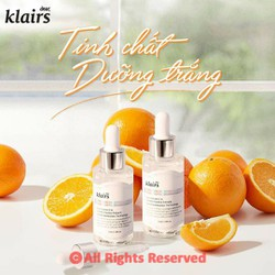 Tinh Chất Vitamin C Giúp Mờ Thâm Nám, Trắng Sáng Dành Cho Da Dễ Kích Ứng Klairs Freshly Juiced Vitamin Drop 35ml