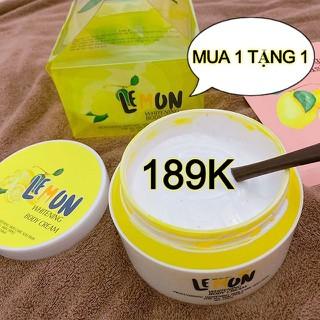 FREESHIP - MUA 1 TẶNG 1 - Siêu Phẩm - Kem Body Chanh Lemon Cực Hot - Có Hạt Vitamin Kích Trắng - 250gr - bodylemon thumbnail
