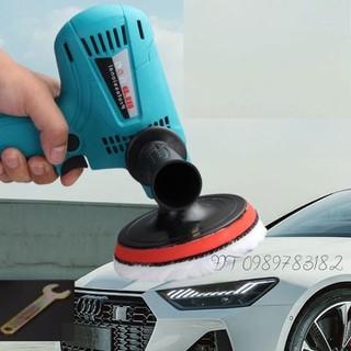Máy đánh bóng ô tô 600w , 6 tốc độ quay - máy đánh bóng ô tô 600w thumbnail