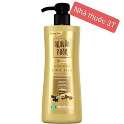 Dầu gội dược liệu Nguyên Xuân Bồng bềnh – Dành cho người tóc dầu, tóc bết, da đầu dầu.