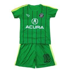 Bộ đồ thể thao dành cho trẻ em, áo đấu đội tuyển cho bé trai và bé gái, trang phục câu lạc bộ bóng đá dành cho bé từ 10-40kg- NHIỀU MÀU