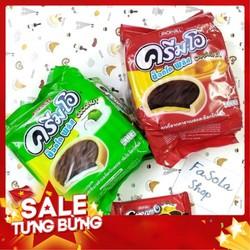 Bánh quy CREAM-O Choco Plus JACK&JILL 24 gói 432g Thái Lan