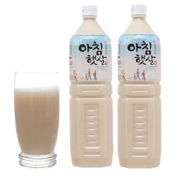 Combo 2 chai nước Gạo Rang Hàn Quốc Woongjin Chai 1,5L đồ uống ngon bổ rẻ