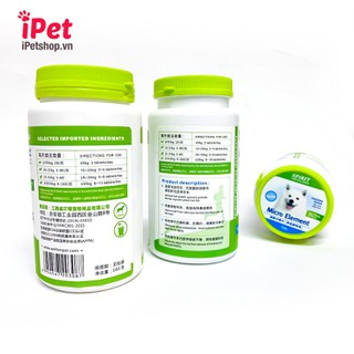 Viên Bổ Sung Dinh Dưỡng Cho Chó Mèo Spirit Canxi Khoáng Đẹp Lông Da Vitamin - iPet Shop - SP000796 3
