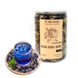Hộp 100gr trà hoa đậu biếc giảm cân chăm sóc sức khỏe, nấu râu câu, nấu xôi làm màu tự nhiên