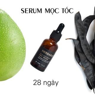 Serum tinh chất mọc tóc tinh dầu vỏ bưởi & tinh dầu bồ kết herbario 30ml - her-serum thumbnail