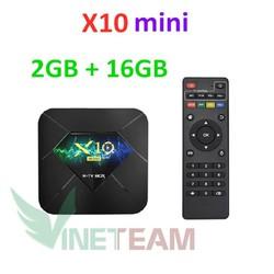 Tivi box X10. mini pro android 9.0 r-tv box plus 6k