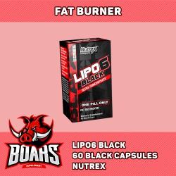 NUTREX LIPO6 BLACK - VIÊN UỐNG SINH NHIỆT, ĐỐT MỠ MẠNH MẼ (60 VIÊN)