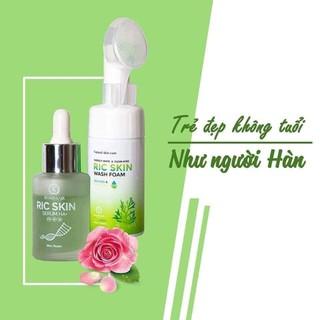 Bộ Combo Ric Skin Serum+ Sữa Dửa Mặt - RIC SKin - 8188 thumbnail