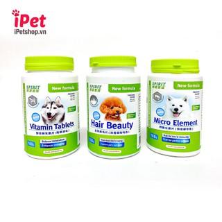 Viên Bổ Sung Dinh Dưỡng Cho Chó Mèo Spirit Canxi Khoáng Đẹp Lông Da Vitamin - iPet Shop - SP000796 2