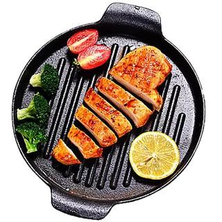 Chảo gang nướng thịt tiện dụng size 24cm hàng loại 1 - KN24-1 thumbnail
