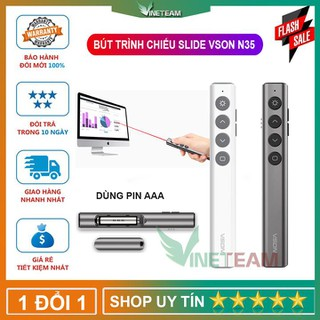 Bút laser trình chiếu Slide - bút trình chiếu VSON - N35 - DC4331 thumbnail