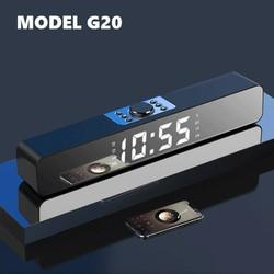 Loa thanh G20 bluetooth 5.0 âm thanh chuẩn bass treble có màn hình hiển thị - Hàng nhập cao cấp