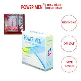 Bao cao su Powermen Size nhỏ - Bao cao su Power Men size 49mm - tsi3 thumbnail