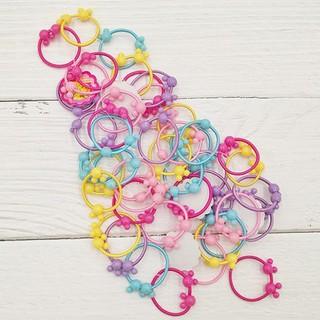 Sét 50 dây chun buộc tóc cho bé - Nhiều màu thumbnail