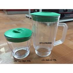Phụ kiện cối nhựa máy xay sinh tố