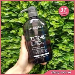 [HOT SALE] Dầu Gội Trị Gàu Dành Cho Nam Tonic Pharmaact 600ml
