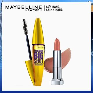 Bộ Mascara Dày Mi Cực Đại Magnum Big Shot Waterproof Chuốt Mi Không Lem Không Trôi và Son lì mịn môi Creamy Matte 656 - TUML00396CB thumbnail