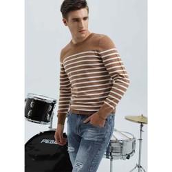 Áo len nam Biluxury thời trang ALRS013CAF vải len Hàn Quốc mềm mịn không bông xù