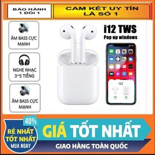 TAI NGHE BLUETOOTH 5.0 I12, TẶNG DOCK SẠC - i 11 111 thumbnail