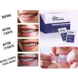 Set 7 Miếng dán Crest trắng răng  hiệu quả tức thì  - Hàng Mỹ