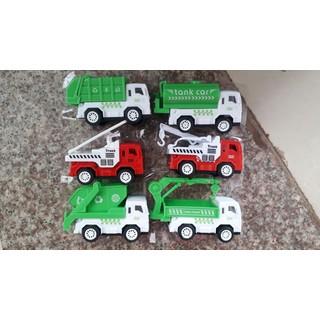 Mô hình 6 xe công trình cho bé - mô hình xe thumbnail