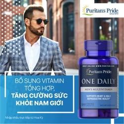 Vitamin tổng hợp hàng ngày cho nam giới One Daily Men Multivitamin của Puritan Pride Mỹ