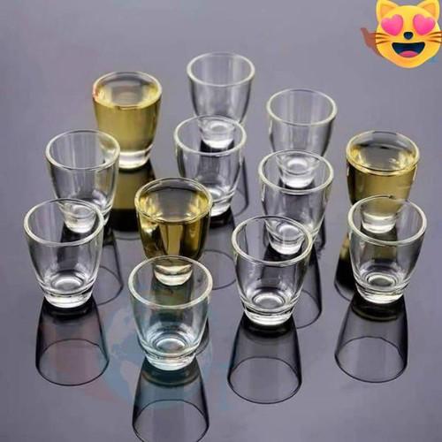Bộ 12 cốc ly thủy tinh uống rượu