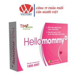 Viên uống Hellomommy - Hỗ trợ tăng cường sức khỏe phụ nữ, giảm nguy cơ vô sinh - Hộp 20 viên – VictoryPharmacy