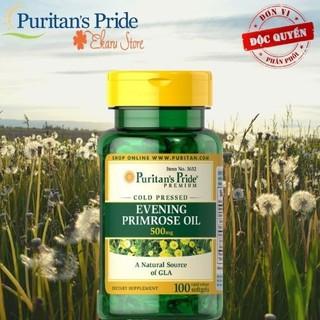 Viên uống nội tiết nữ từ tinh dầu hoa anh thảo - EPO 500mg - của Puritan Pride Mỹ - 3632 thumbnail