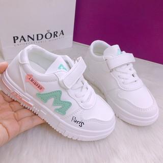 [Nhập mã XHD1VUPR giảm 30%]Giày trẻ em 2020 mẫu mới dáng thể thao chất liệu vải da cao cấp mềm thoáng khí cực đẹp có 2 màu xanh, đỏ [ Hàng đủ size] - ms01 thumbnail