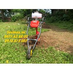 Mua máy khoan đất giá rẻ nhất ở đâu, máy khoan đất bánh xe đẩy tiện dụng