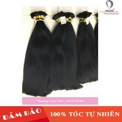 Tóc nối tự nhiên 75cm - Cam kết chưa qua xử lý hóa chất - Natural hair extensions