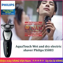 Máy cạo râu khô và ướt thế hệ mới Philips S5083 thay thế cho S5050 S5070 S5079
