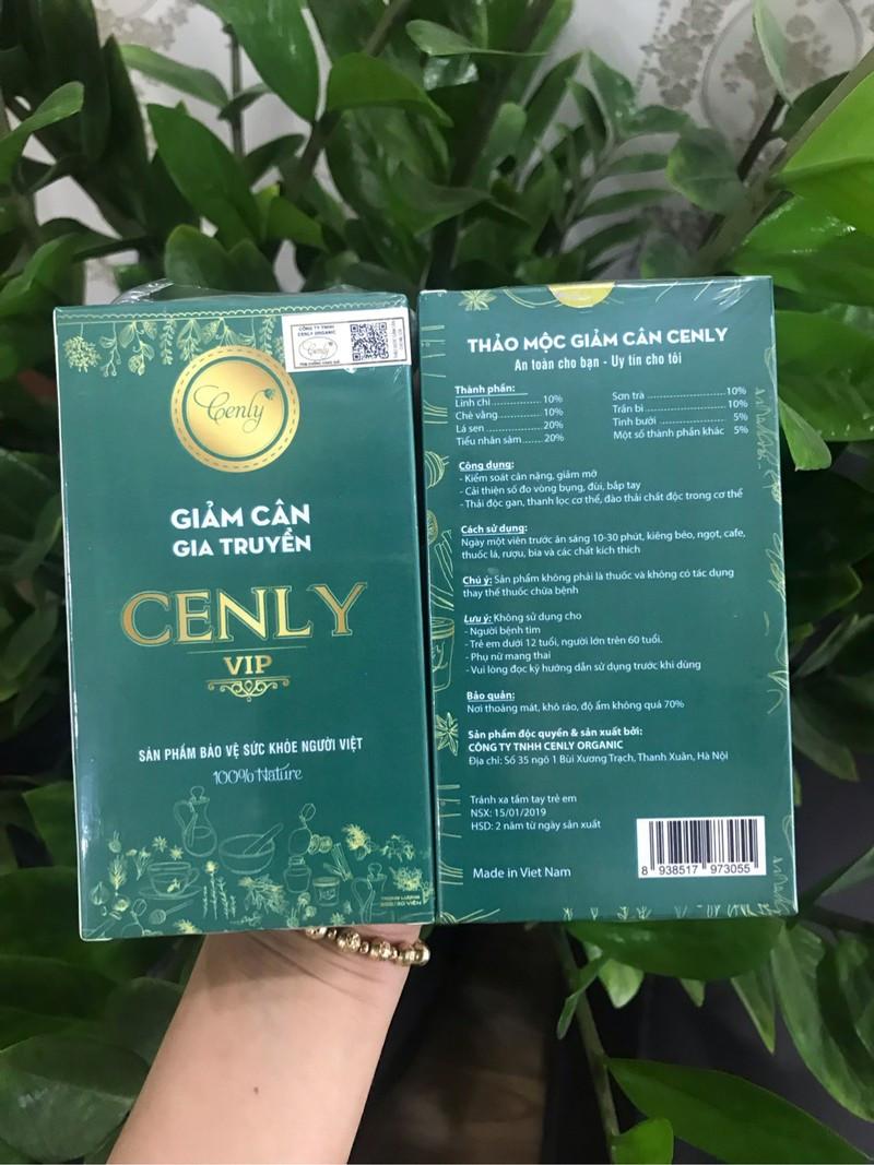 Giảm cân cenly VIP - giảm cân cenly - GCCLV 4