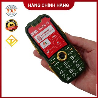 Điện thoại Goly base 15 phím số to, Loa lớn , Pin Trâu - Hàng chính hãng - Goly base 15 thumbnail
