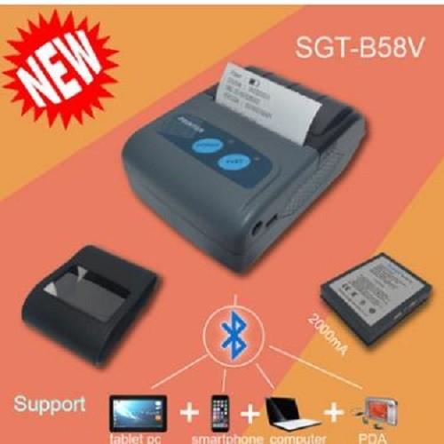 Máy in hóa đơn - in bill cầm tay  scangle sgt-b58v