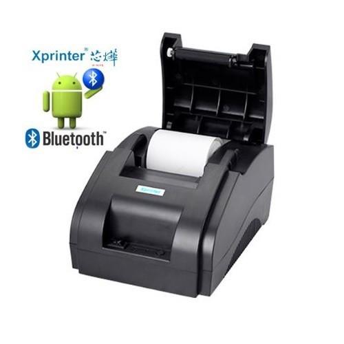 Máy in hóa đơn bluetooth xprinter 58iih, chuyên viettelpay pro, goviet, now..