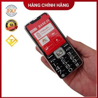 Điện thoại Goly Base 25 Khung kim loại chắc chắn ,Loa 3D siêu lớn , Pin khủng - Hàng chính hãng - Goly Base 25 Black thumbnail
