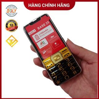 Điện thoại Goly Base 25 Phím số to, Loa 3D siêu lớn , Pin khủng - Hàng chính hãng - Goly Base 25 thumbnail