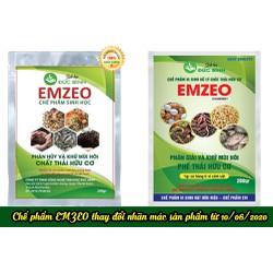 EMZEO Chế phẩm sinh học Phân Hủy và Khử Mùi Hôi Chất Thải Hữu Cơ gói 200gr