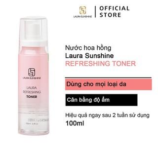 Nước hoa hồng Laura Sunshine - Laura Sunshine Refreshing Toner cân bằng ẩm cho da 100ml - TONER thumbnail