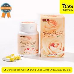 Viên uống HoàngTốNữ Hoa Sen - Giúp nâng cao sức khỏe phụ nữ, điều hòa khí huyết & hỗ trợ điều trị huyết trắng - cvspharmacy
